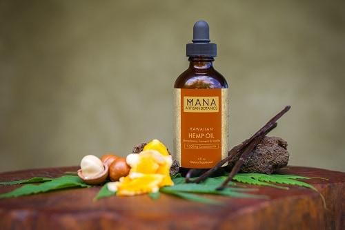 mana botanics hemp oil